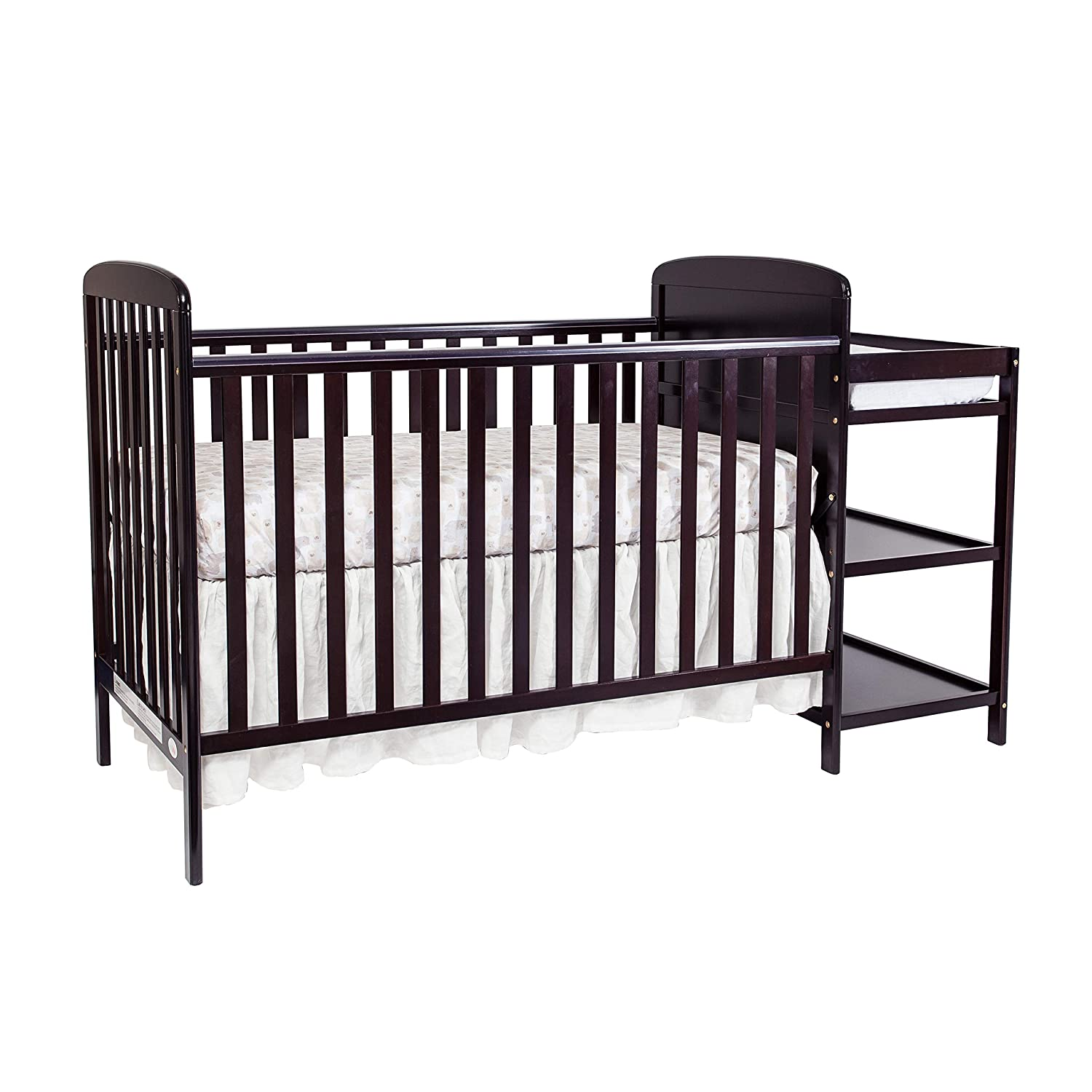 Suite Bebe Ramsey 3 in 1 Convertible Crib Changer, Espresso