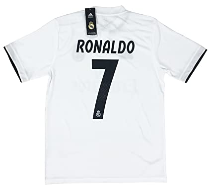 sports shoes 786d8 272b7 New #7 Ronaldo 2018/2019 Men's Real Madrid Home Jersey