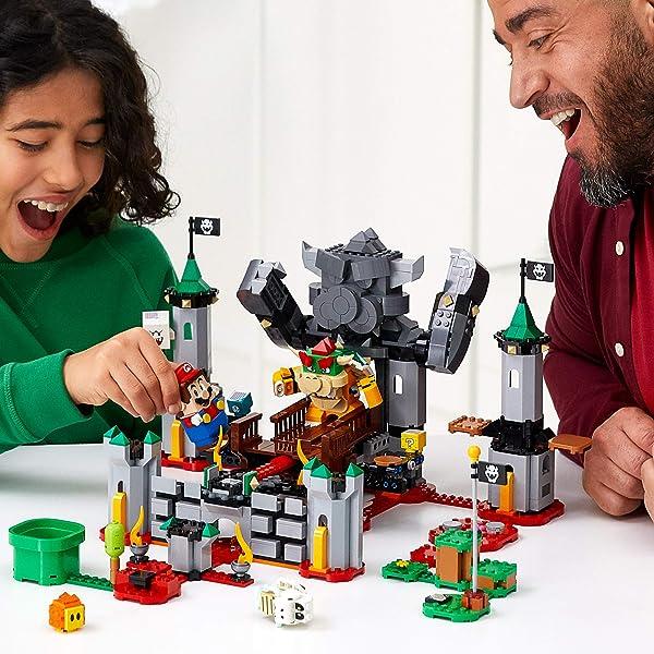 LEGO Super Mario Bowser's Castle Boss Battle building set toy for kids