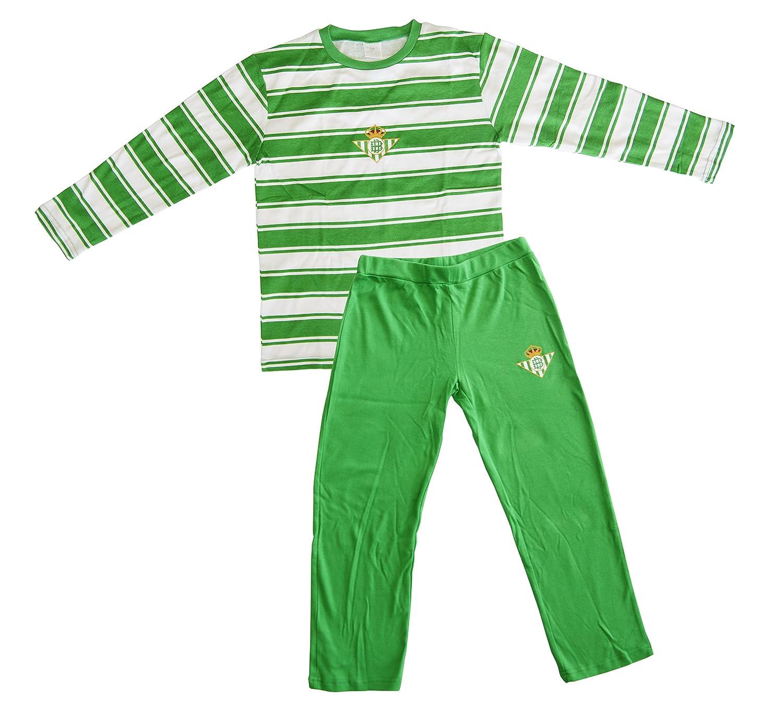 Real Betis Balompié Pijbet Pijama, Infantil: Amazon.es: Deportes y ...