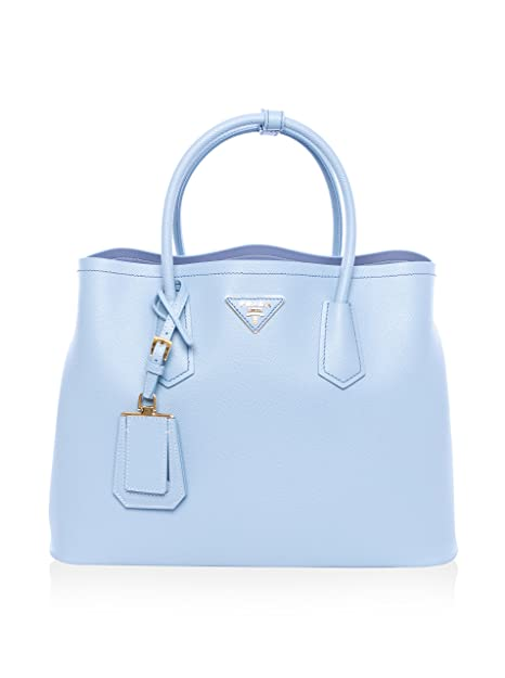 03475bd9937a Prada Womens Saffiano Cuir Tote Bag BN2761 ASTRALE - (Light Blue):  Amazon.ca: Shoes & Handbags