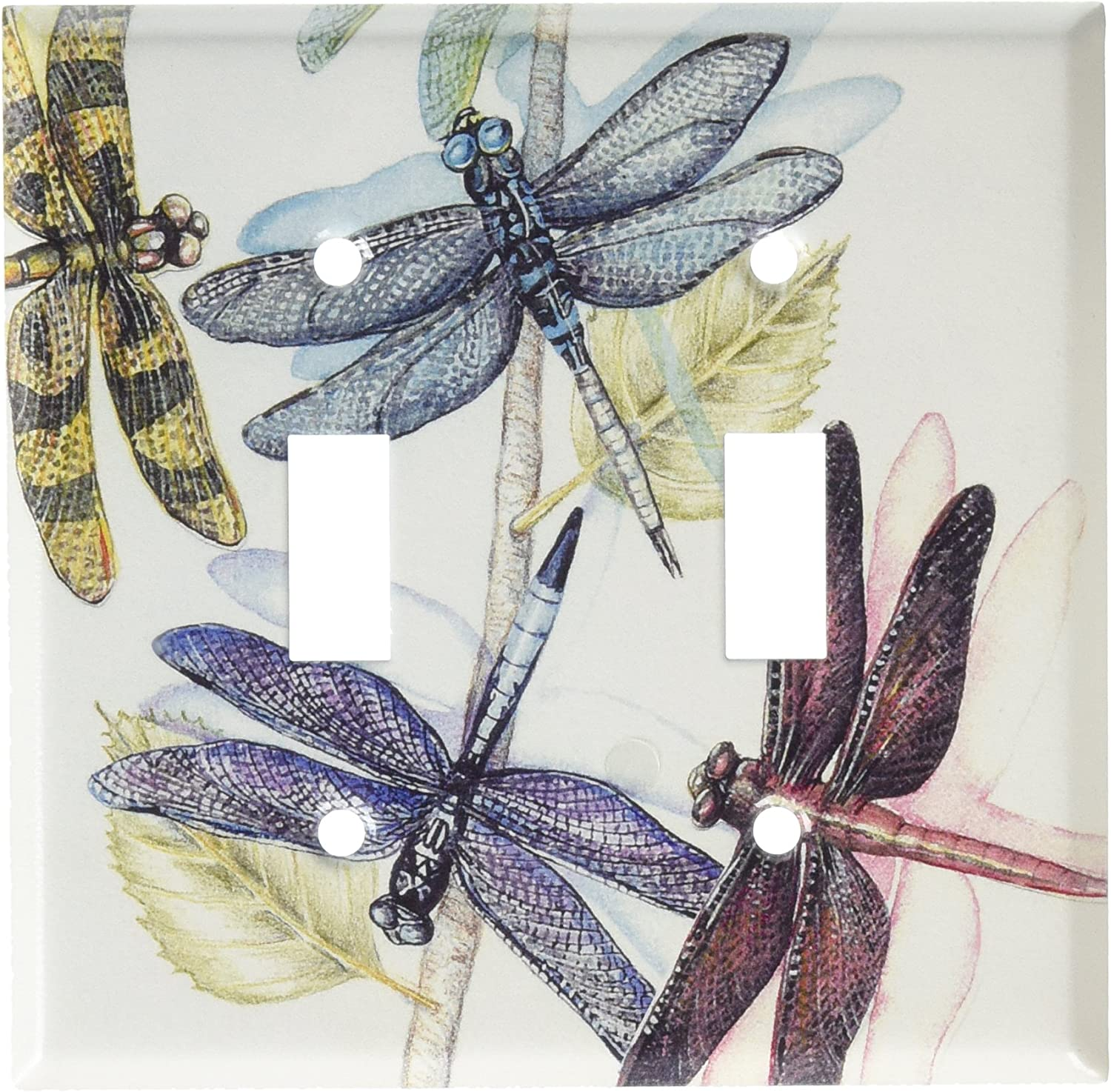 Dragonflies Switch Plate NEW Art Plates Single Toggle FREE2DAYSHIP TAXFREE