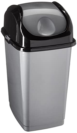 Compact Slim Trash Can