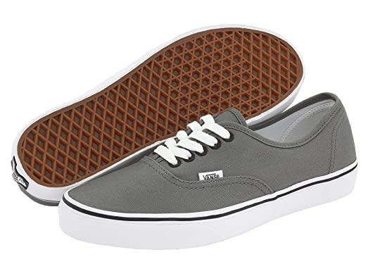 Vans Authentic Pewter Grey Black VN-0JRAPBQ Mens US 5.5 / UK 4.5 / EUR