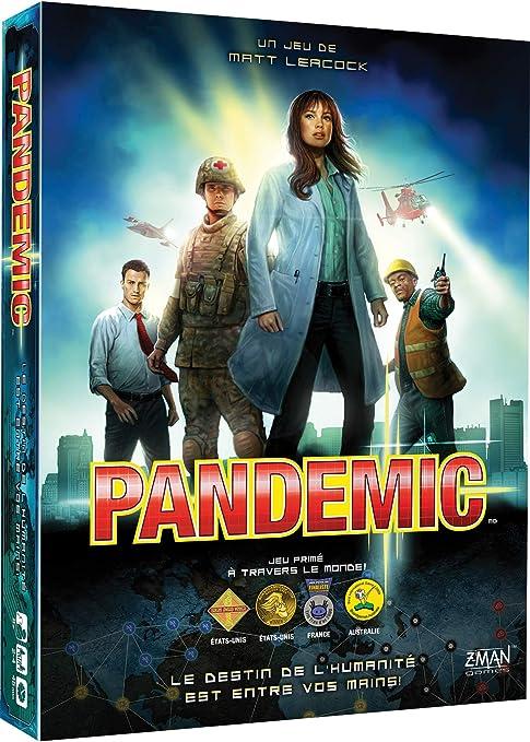 Asmodee, ZMPA01FR, Juego Cooperativo, Pandemic: Amazon.es: Juguetes y juegos