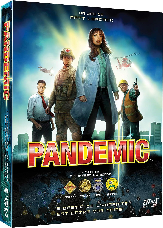 Asmodée Pandemic, zmpa01fr, Gioco coopératif