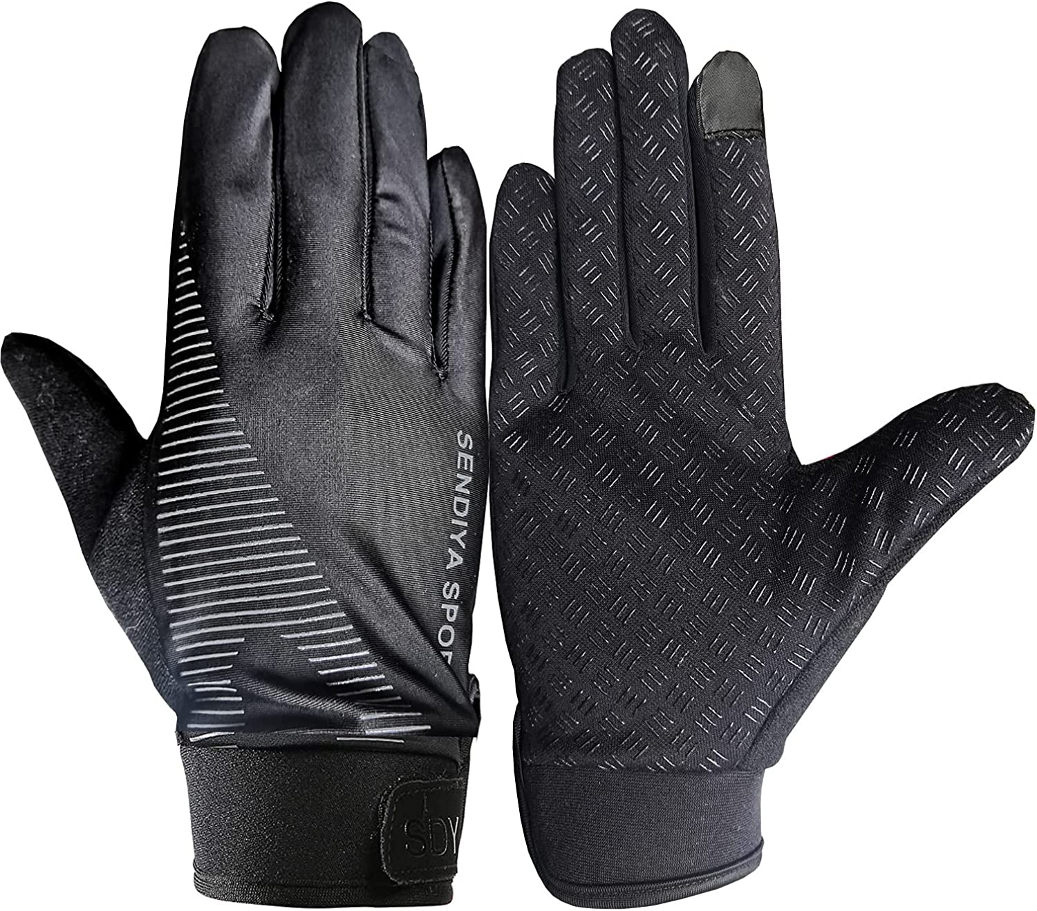 Full Finger Gloves for Men Women Texting Workout Exercise Gloves Driving in Summer Touch Screen Gloves Cycling