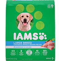 IAMS Adult Large Breed Dry Dog Food - Chicken and Whole Grains Recipe, 13.61 (30LB)