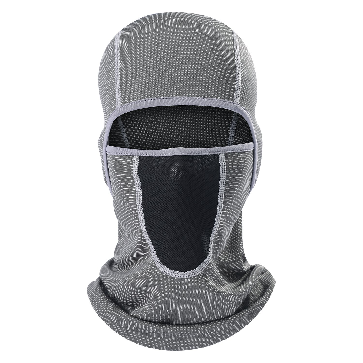 AIWOLU Balaclava -Windproof and Dust Protection Balaclava Face Mask Breathable Outdoor Sports Motorcycle Cycling and Trekking Neck Cover Hood (AWL-B005-AL-14)