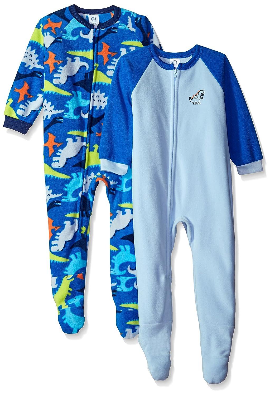 Gerber Boys' 2-Pack Blanket Sleeper, Happy Dino, 7 Gerber Children' s Apparel 94506216ABO6007
