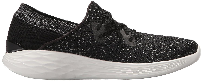 Skechers Women's You-14964 Sneaker B072KG63S8 US|Black/White 6 B(M) US|Black/White B072KG63S8 495495