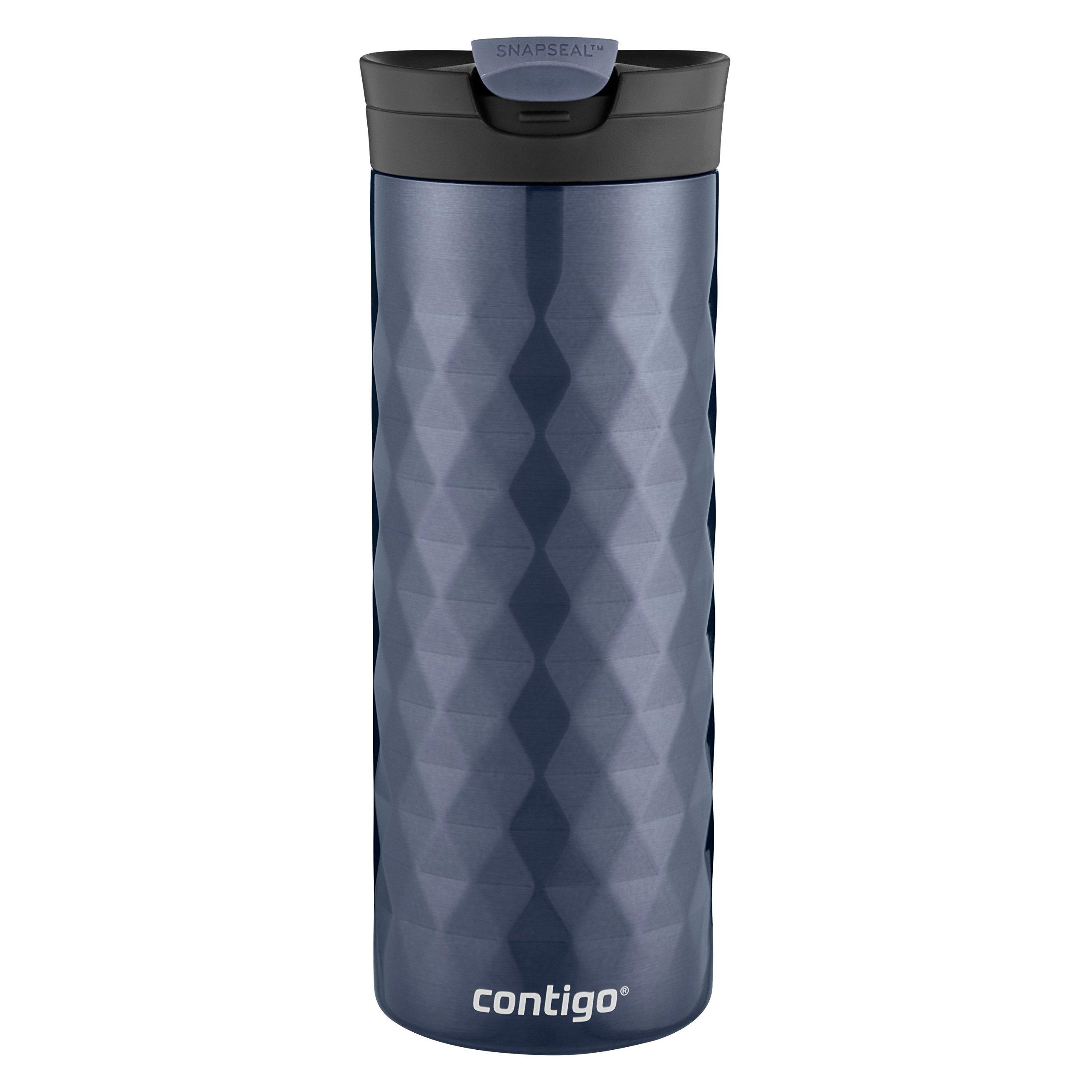 Contigo SnapSeal Kenton Stainless Steel Travel Mug, 20 oz, Serenity by Contigo (Image #2)