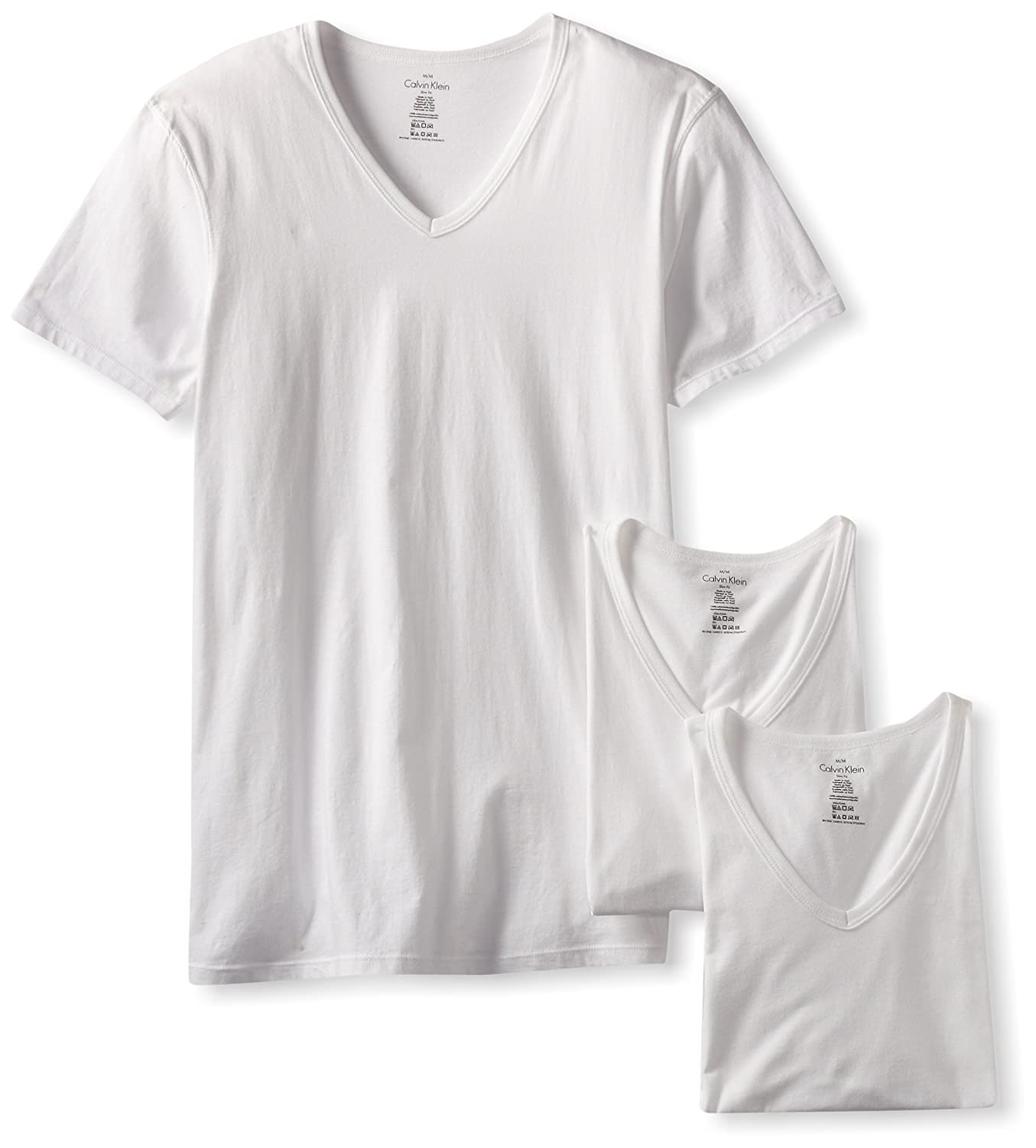 7480cde6bb77e4 Calvin Klein Body Slim Fit V Neck T Shirt – EDGE Engineering and ...