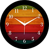 IT2M 11.75 Inch Wall Clock for Home/Living Room (8503)