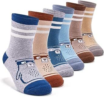 Unisex Baby Girl Boy Cotton Socks Thick Winter Warm Crew Socks