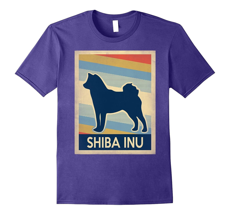 Vintage shiba inu Tshirt-Art