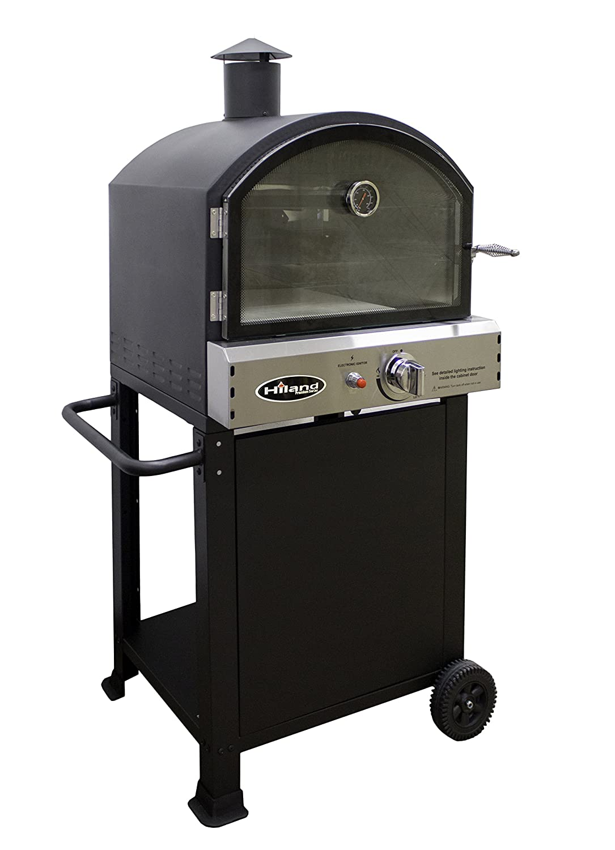 Hiland PSL-SPOC AZ Patio Heaters Pizza Oven, Black