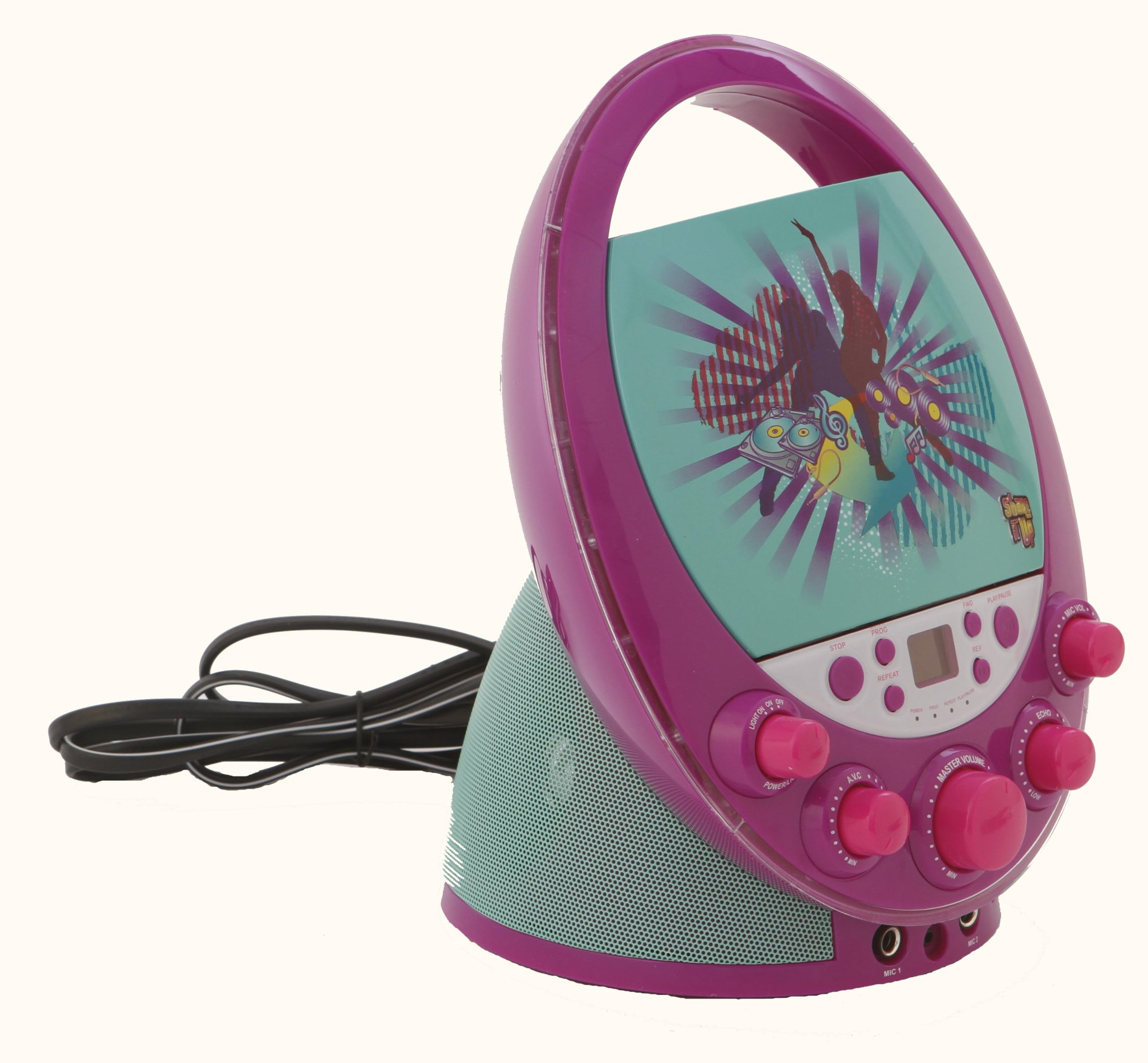 Karaoke System 66014 Shake it Up Karaoke Machine, Purple by Karaoke System (Image #5)