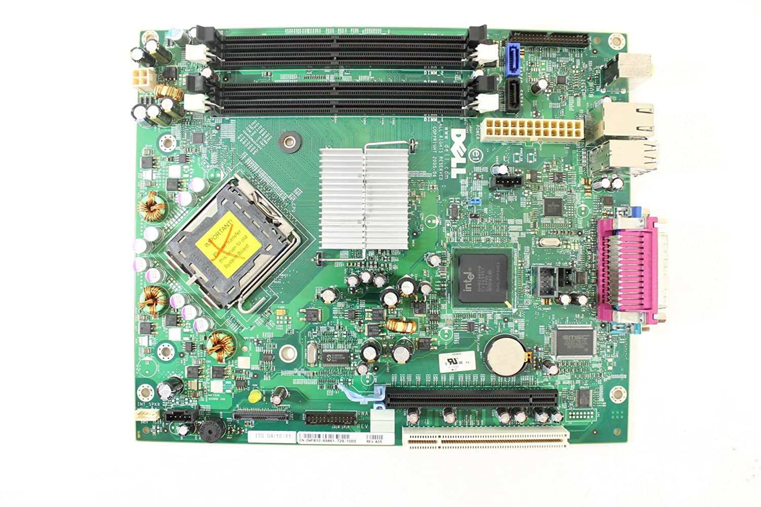 DELL OPTIPLEX 745 MOTHERBOARD TREIBER