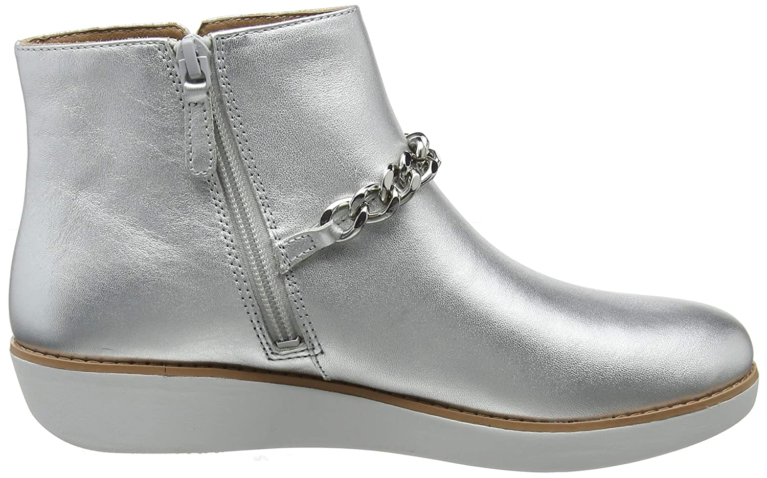 ee9da4839733 Fitflop Women s s Pia Chain Metallic Ankle Boots  Amazon.co.uk  Shoes   Bags