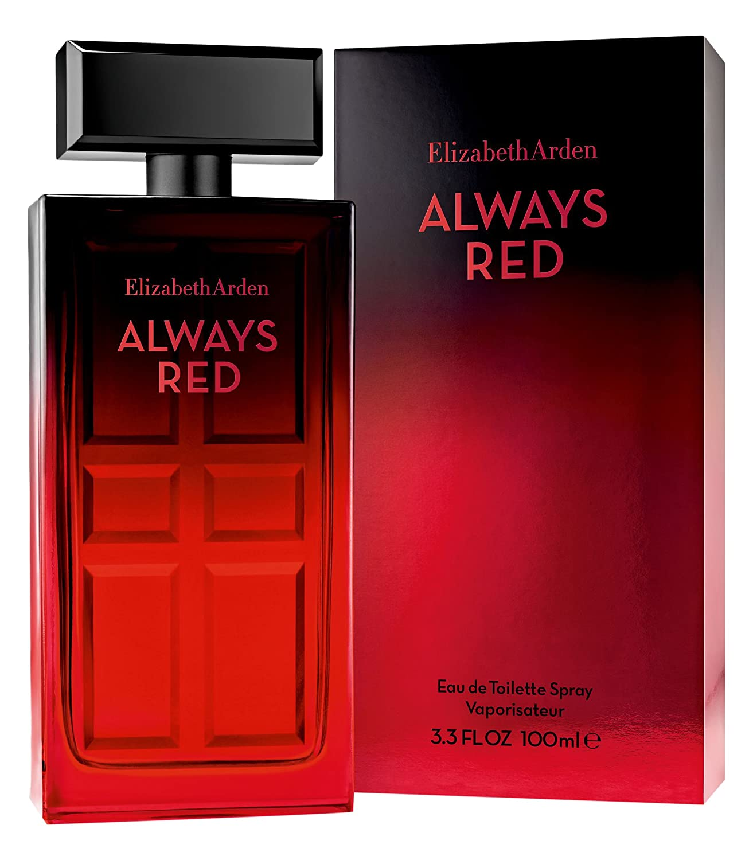 Amazon Elizabeth Arden Always Red Eau De Toilette Spray 33 Fl