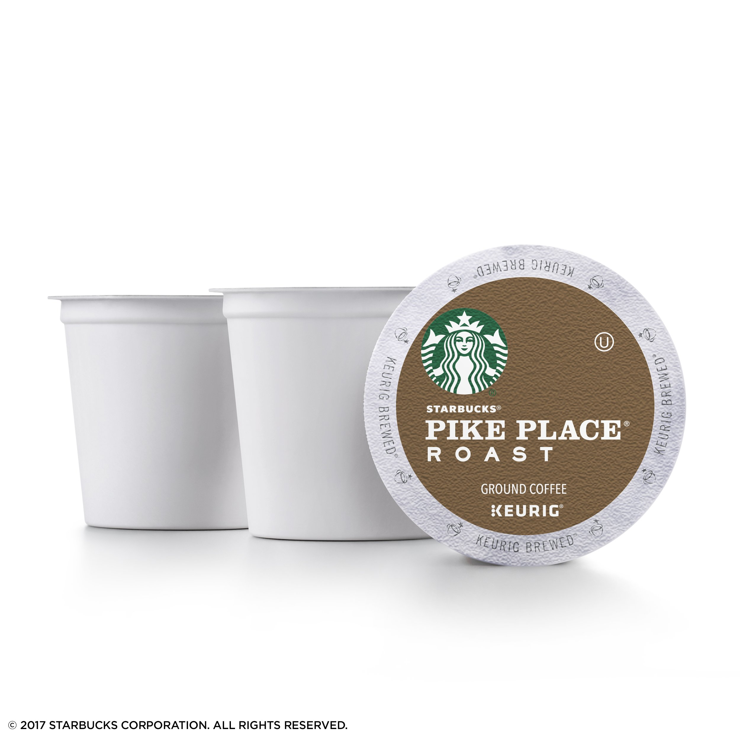 Starbucks Pike Place Roast Medium Roast Single Cup Coffee for Keurig Brewers, 4 boxes of 24 (96 total K-Cup pods) by Starbucks (Image #3)