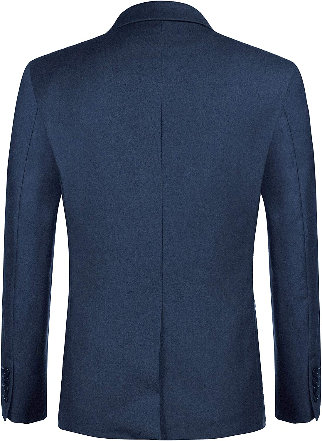 Mens Casual Suit Blazer Jackets Lightweight Slim Fit One Button Sports Coats