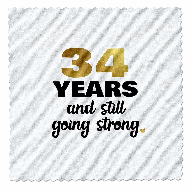 3dRose Janna Salak Designs Anniversary - 34 Year Anniversary Still Going Strong 34th Wedding Anniversary Gift