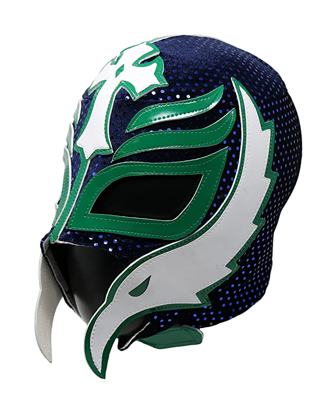 Amazon.com: Rey Mysterio Professional Lucha Libre Wrestling Mask. Mascara Profesional de Lucha Libre (Black/Orange): Clothing