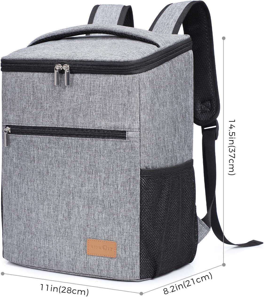 Grande boîte 24L cooler camping plage pique-nique isolé GLACE ALIMENTAIRE COOL BOX voyage sac
