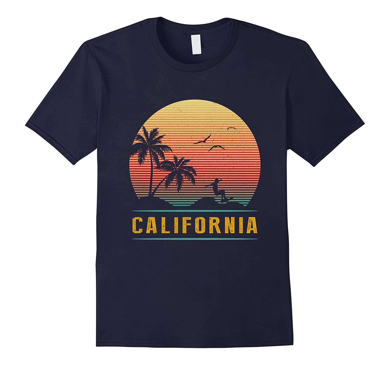 California Vintage Retro T-Shirt - 70s Surf Tee-T-Shirt