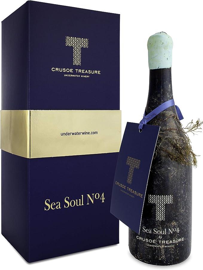Sea Soul Nº4 Syrah Vino Submarino Edición especial: Amazon.es: Alimentación y bebidas