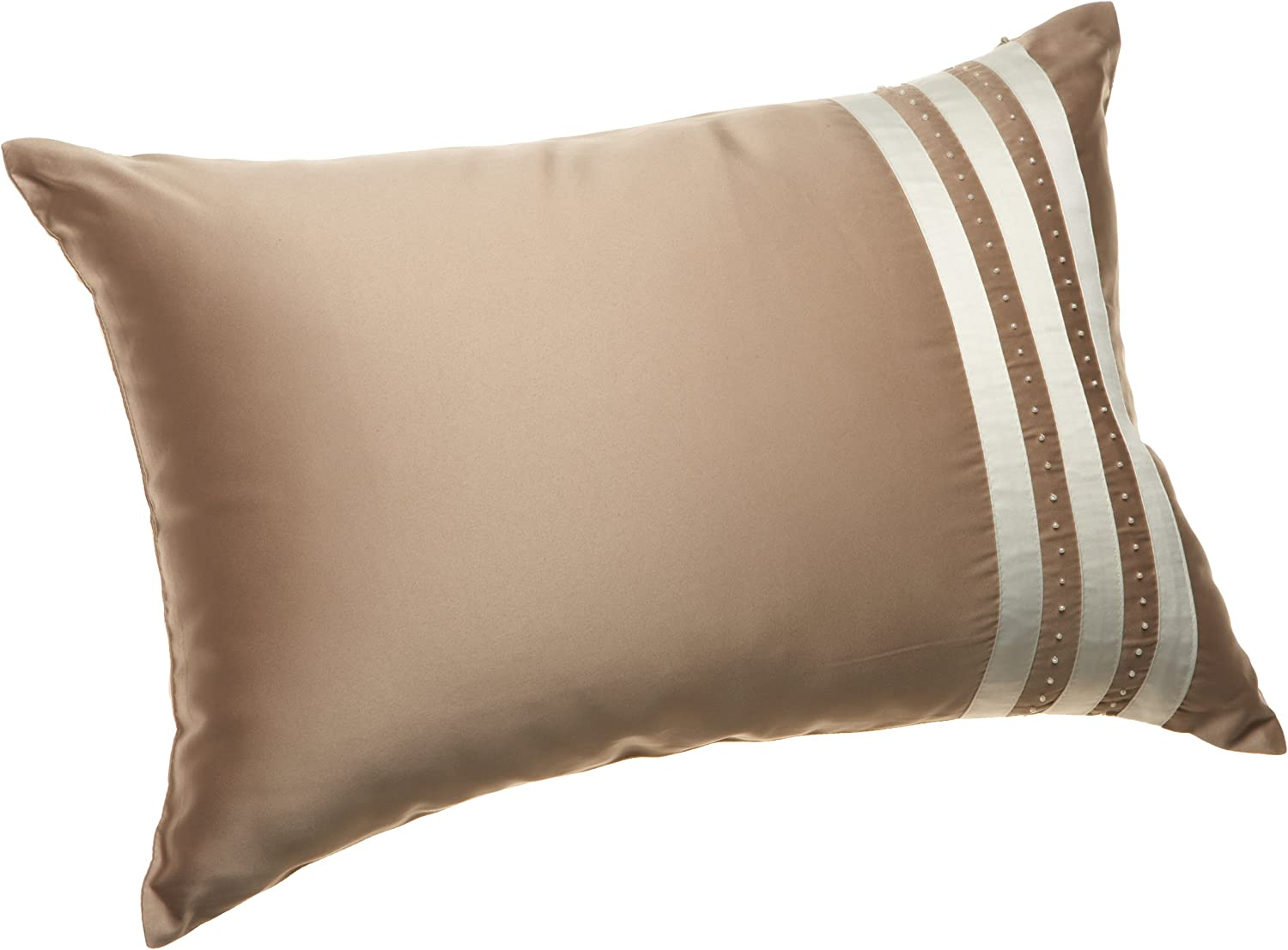 Amazon.com: Nicole Miller 9-inch Decorative Pillow, Ivory: Home
