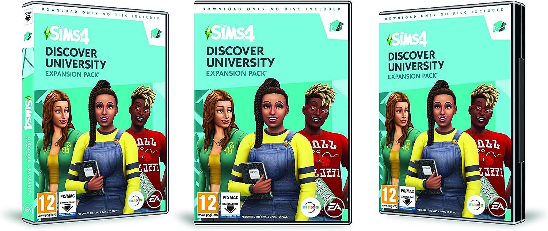 The Sims 4 Discover University (PC Code in Box) [Importación ...