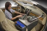 AutoExec Road Car Super-02 RoadMaster Car Desk with Built in 200W Continuous Output Power Inverter and Printer Stand