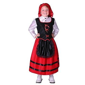 Disfraz de pastora para niña - 3-4 años: Amazon.es: Juguetes ...