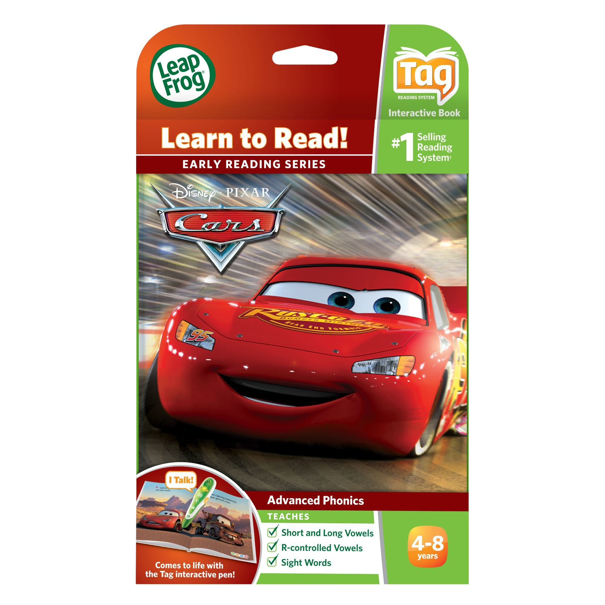 LeapFrog LeapReader Book: Disney·Pixar Cars: Racing Adventures (works with Tag) by LeapFrog (Image #4)