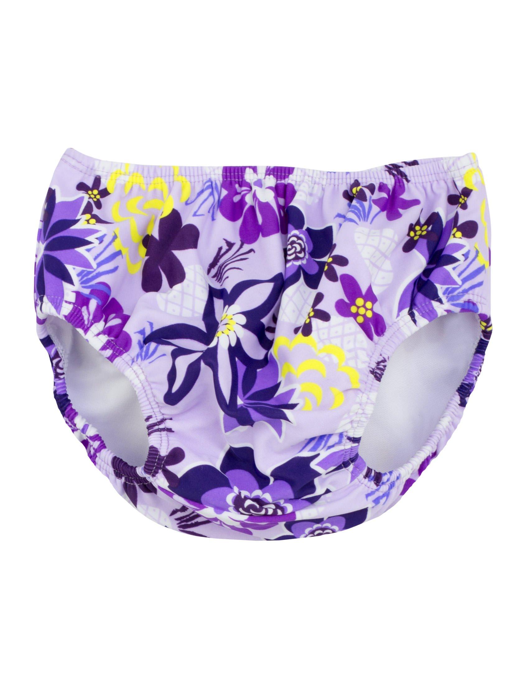 Tuga Girls Reusable Swim Diaper, Agata, 2XL