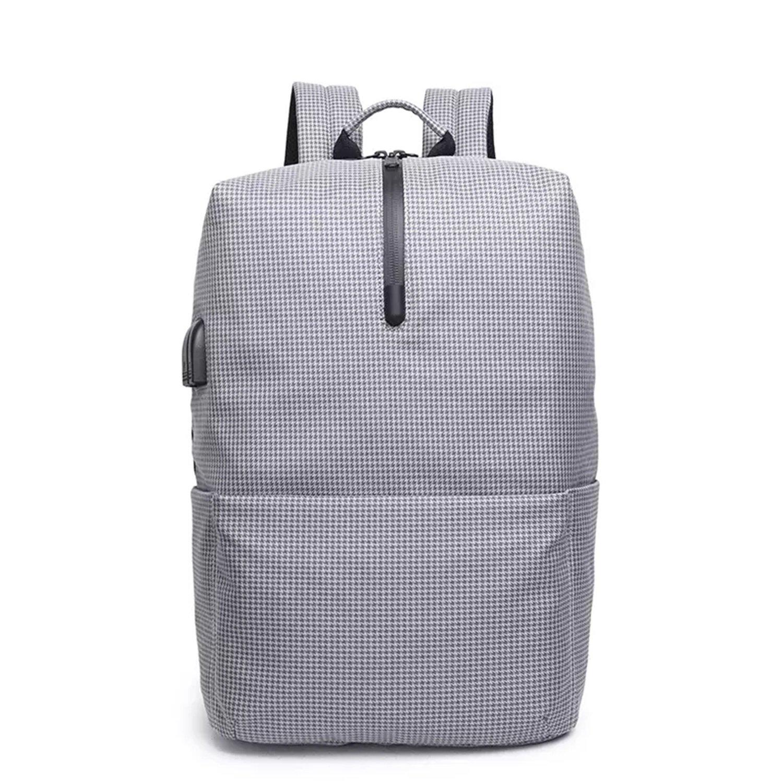 MUGUCHEN Nuevo mochila USB Mochila computadora para estudiante mochila para computadora Mochila portátil mochila mochila mochila usb (Color : Negro) 91db28