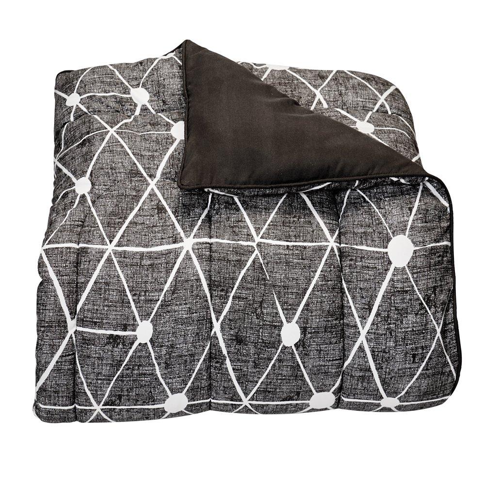 Campus Linens Destin Black Twin XL Comforter for College Dorm Bedding