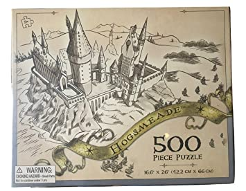 Amazon.com: Universal Studios Wizarding World Of Harry Potter Hogsmeade 500  Piece Puzzle: Toys U0026 Games