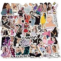 Ariana Grande Stickers 53pcs Pop Singer Decor for Music Fan Laptop Bumpers Cars Computers Skateboard Vinyl Sticker for…