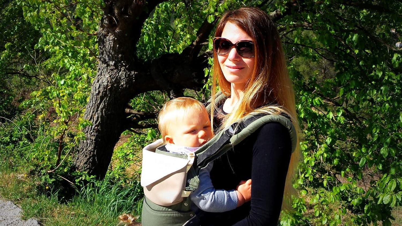 Sacs de portage et accessoires  Sac pour porte bébé poussière dorée   Amazon.fr  Bébés   Puériculture bb85ba010b6
