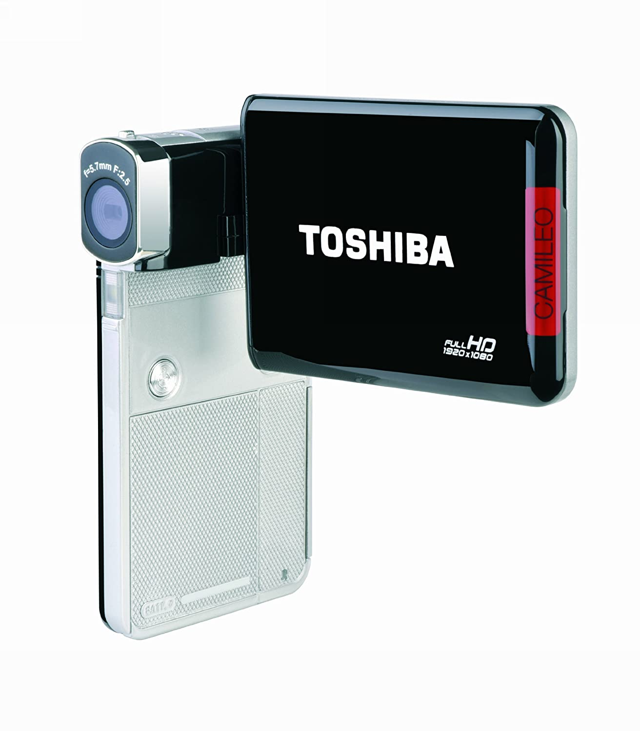 Amazon.com : Toshiba Camileo S30 Full HD Camcorder (Silver/Black)  (Discontinued by Manufacturer) : Camera & Photo