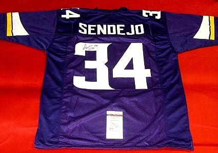 Autographed Andrew Sendejo Jersey - JSA Certified - Autographed NFL Jerseys 6c4bf3bb9