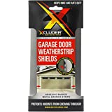 Xcluder Garage Door Rodent Shield, Stainless Steel, 1 Door Kit (Pack of 2), Keep Rats and Mice Out,162940