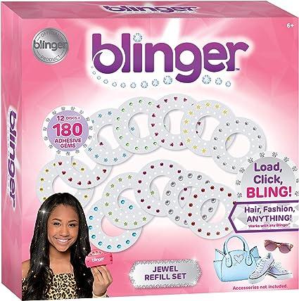 Blinger Diamond Collection Pink Plus Refill Packs New
