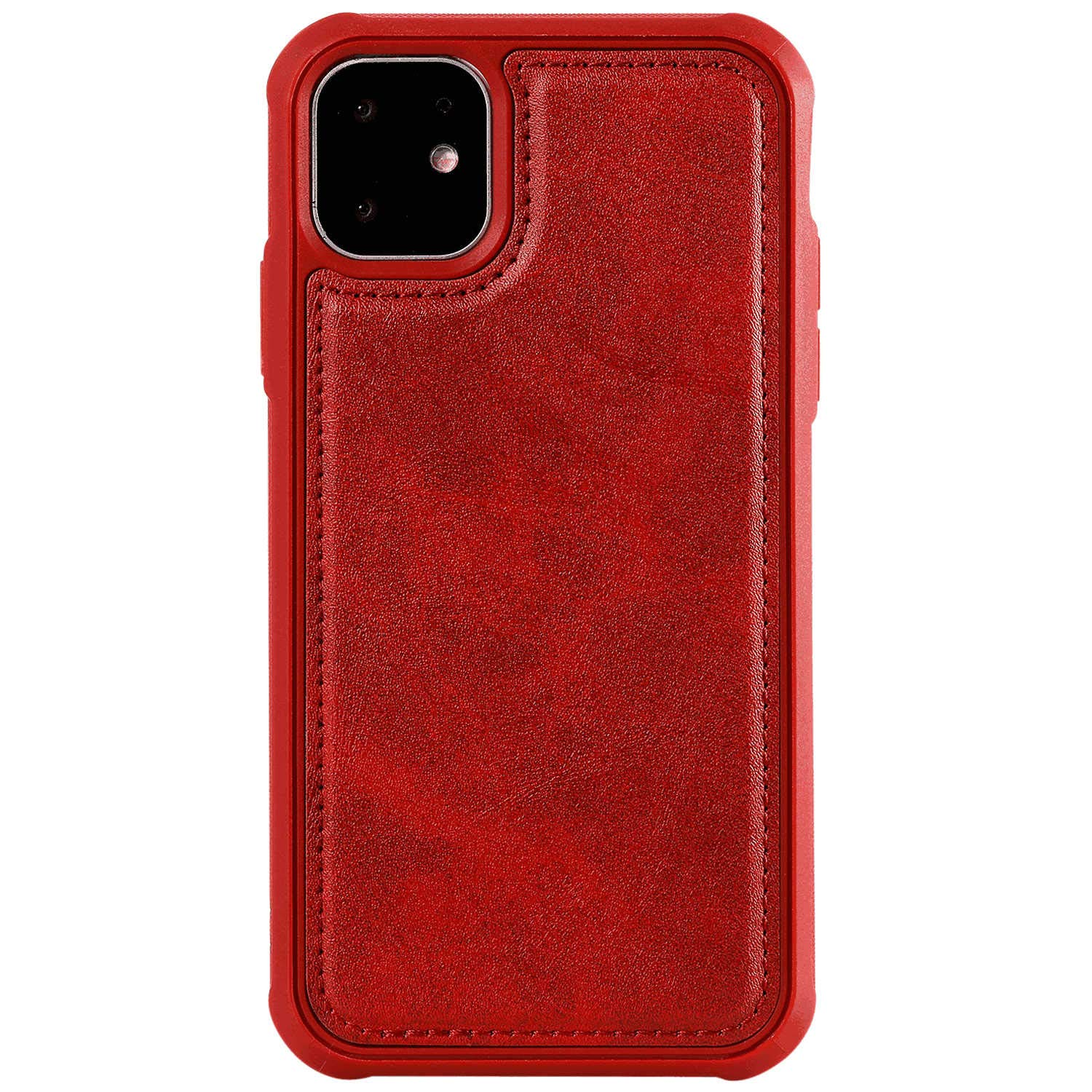 iPhone Xs Max Flip Case Cover for iPhone Xs Max Leather Kickstand Extra-Protective Business Cell Phone Cover Card Holders with Free Waterproof-Bag