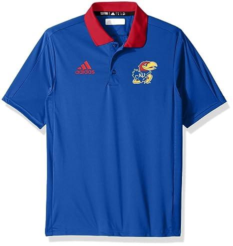 31efe8187ee Amazon.com   adidas NCAA Sideline Coaches Polo   Sports   Outdoors