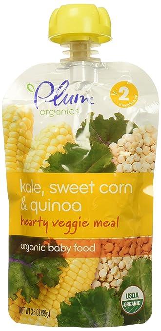 Plum Organics Corn Kale Carrot Tomato Baby Food 35 Oz Amazon